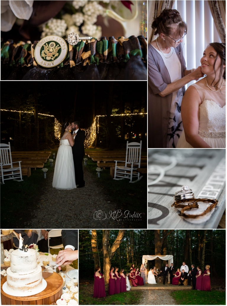 rustic wedding photography highlights